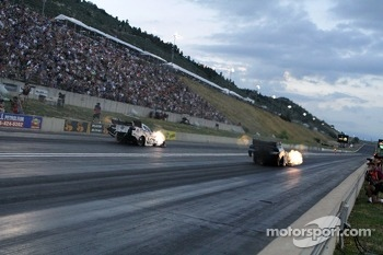 Jack Beckman and John Force