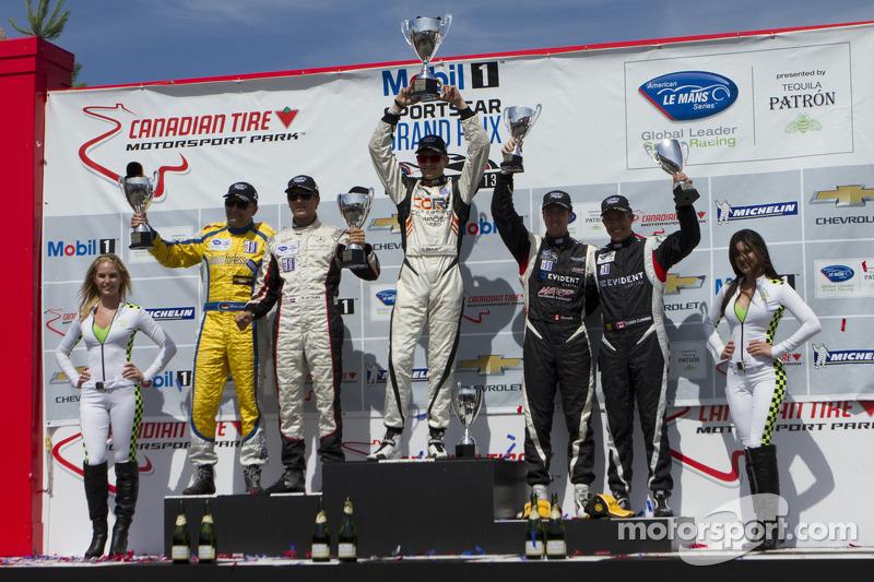 PC class podium