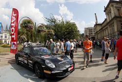 Porsche safety vehicle