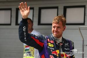 2nd place for Sebastian Vettel, Red Bull Racing RB9