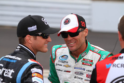 Kasey Kahne and Kevin Harvick