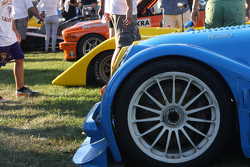 Friday Race Car Concours in Elkhart Lake.