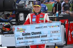 Polesitter Gabby Chaves