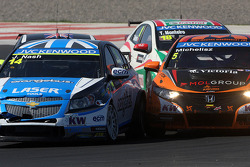 James Nash, Chevrolet Cruze 1.6 T, Bamboo Engineering and Norbert Michelisz, Honda Civic, Zengo Motorsport