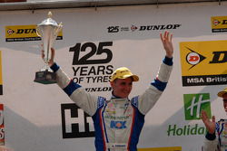 Round 16 Race Winner Sam Tordoff
