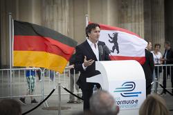 Alejandro Agag, CEO, Formula E Holdings, Formula E Berlin presentation