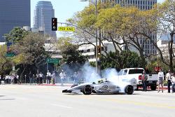 Test driver Lucas di Grassi, Formula E Los Angeles presentation