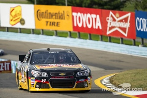 Max Papis sub driver in the No. 14 Chevrolet for Tony Stewart at Watkins Glen
