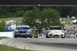#81 BimmerWorld Racing BMW 328i: Tyler Cooke, Gregory Liefooghe #38 BGB Motorsports Porsche Carrera: JIm Norman, Spencer Pumpelly