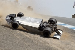 1974 Brabham BT-44 crashes