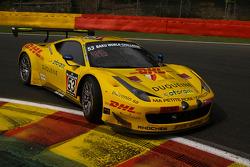 #53 Sport Garage Ferrari 458 Italia: Beniamino Caccia, Jérôme Delmay, Gilles Duqueine, Philippe Marie