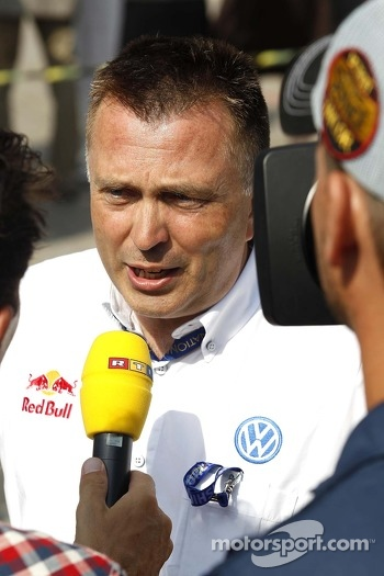 Jost Capito, Head of Volkswagen Motorsport