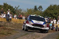 Elfyn Evans, Daniel Barrit, Ford Fiesta R5 Qatar World Rally Team