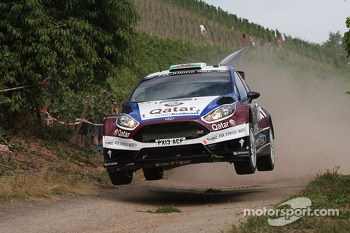 Elfyn Evans, Daniel Barrit, Ford Fiesta R5 Qatar World Rally Team