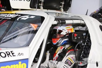 Jan Seyffarth, Nico Bastian, Lance David Arnold, ROWE RACING, Mercedes-Benz SLS AMG GT3, Portrait