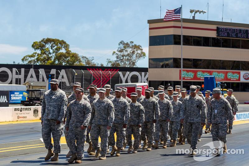 National guard represented at Sonoma Raceway