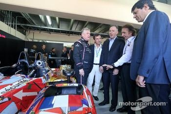 Pierre Fillon, ACO President and Emerson Fittipaldi