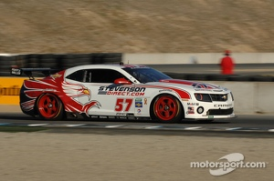 #57 Stevenson Motorsports Camaro GT.R: Robin Liddell, John Edwards