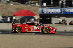 #61 R.Ferri/AIM Motorsport Racing with Ferrari Ferrari 458: Jeff Segal, Alex Tagliani