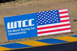 WTCC USA sign
