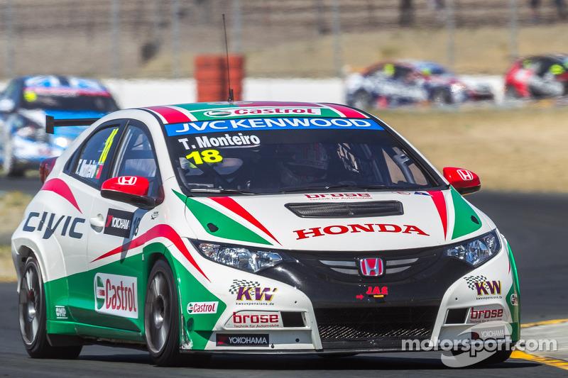 Tiago Monteiro, Honda Civic Super 2000 TC, Honda Racing Team J.A.S.