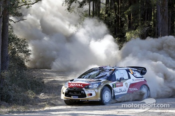 Kris Meeke and Chris Patterson, Citroën DS3 WRC, Citroën Total Abu Dhabi World Rally Team