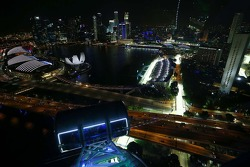 Scenic view from the Singapore Flyer