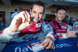 Benoit Tréluyer and André Lotterer