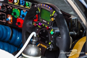 #12 Rebellion Racing Lola B12/60 Coupé - Toyota steering wheel
