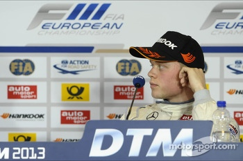 Second place Felix Rosenqvist