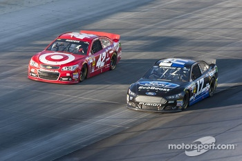 Juan Pablo Montoya and Ricky Stenhouse Jr.