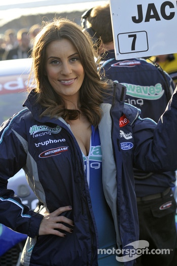 Airwaves Grid Girl