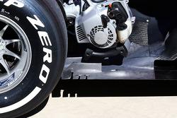 Sebastian Vettel, Red Bull Racing RB9 rear floor detail