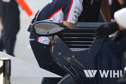 Camera on the Williams FW35 rear wing