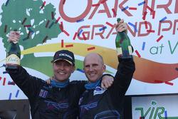 GTC winners Ben Keating, Damien Faulkner