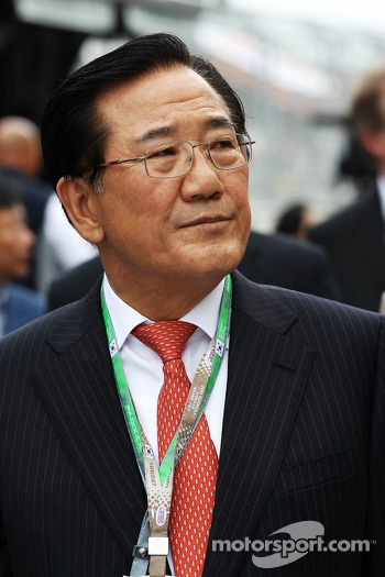 Park Joon-Young, Head of the F1 Organising Committee of South Jeolla Province
