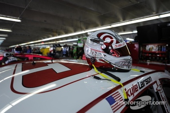 Helmet of Kyle Larson, Phoenix Racing Chevrolet