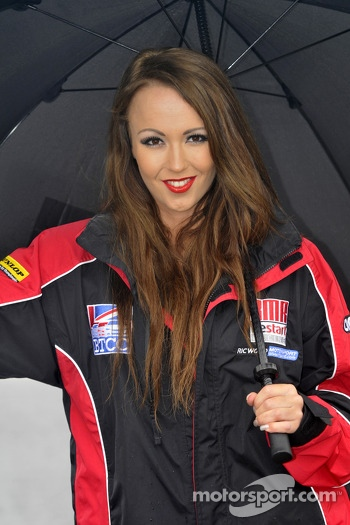 Team BMR Restart Racing Grid Girl