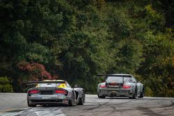#17 Team Falken Tire Porsche 911 GT3 RSR: Bryan Sellers, Wolf Henzler, Nick Tandy, #93 SRT Motorsports SRT Viper GTS-R: Jonathan Bomarito, Kuno Wittmer, Tommy Kendall