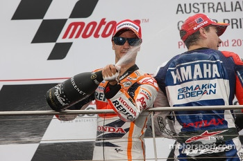 Second place Dani Pedrosa