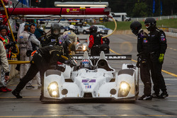 Pit stop for #7 BAR 1 Motorsports Oreca FLM09 Oreca: Rusty Mitchell, Tomy Drissi, James French
