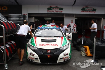Gabriele Tarquini, Honda Civic, Honda Racing Team J.A.S
