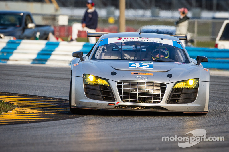 #45 Flying Lizard Motorsports Audi R8: Seth Neiman, Spencer Pumpelly