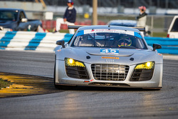 #45 Flying Lizard Motorsports Audi R8: Seth Neiman, Spencer Pumpelly