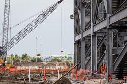 Contruction site of the Daytona Rising project