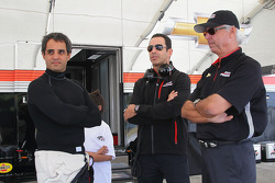 Juan Pablo Montoya, Will Power and Rick Mears