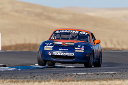 #23 RJ Racing Mazda Miata: Gary Browne, Roger Eagleton, Rob Gibson, John Gibson