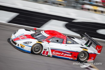 #5 Action Express Racing Corvette DP Chevrolet: Joao Barbosa, Christian Fittipaldi, Sébastien Bourdais