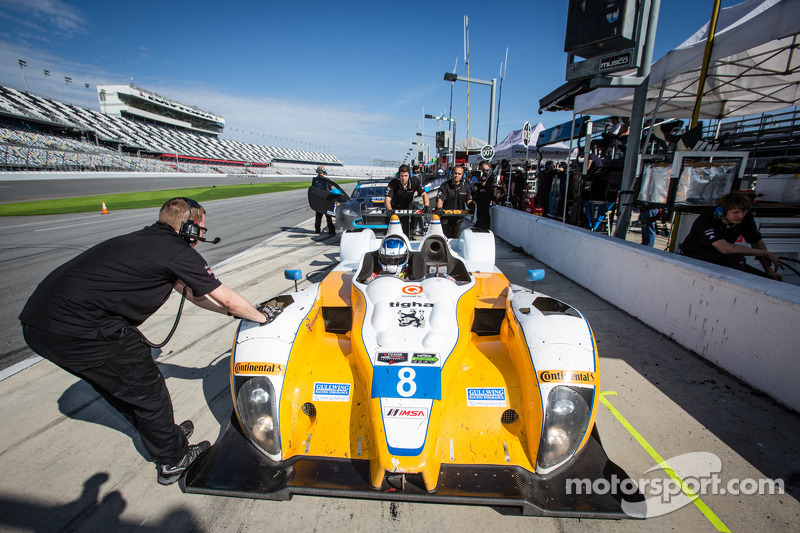 #8 Starworks Motorsport ORECA FLM09 Chevrolet: Mirco Schultis, Renger van der Zande, Eric Lux