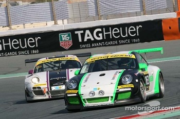 #163 Team Parker Racing Porsche 997 Cup: Ian Loggie, Chris Jones, Jules Westbrook, Richard Plant